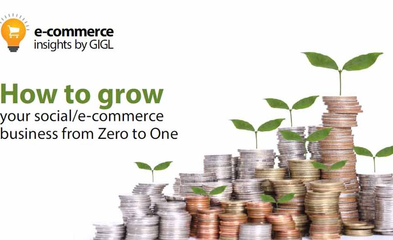 How To Grow Your Social/ E-commerce Business From Zero to One