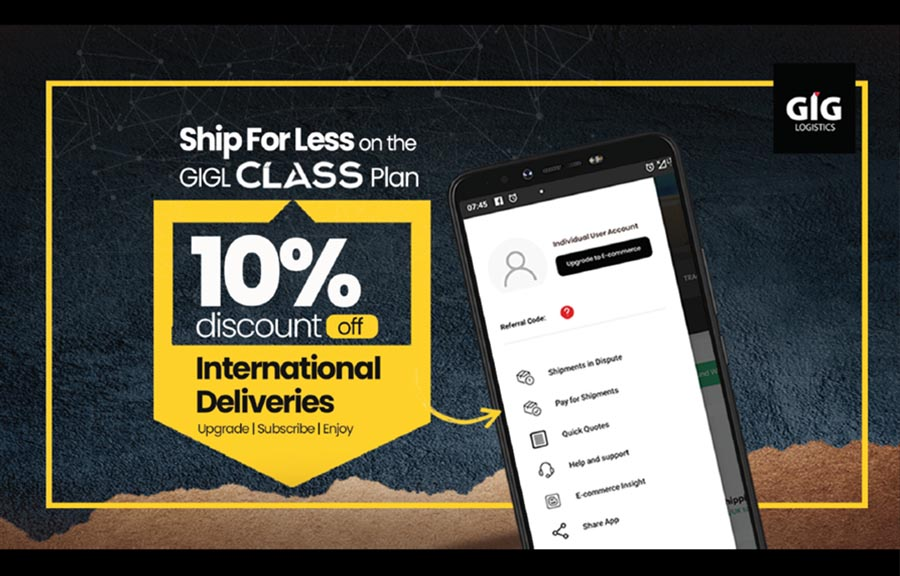 GIGL Class E-commerce Shippers Plan